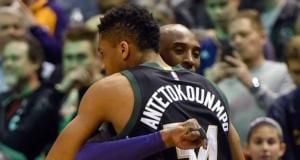 Giannis Antetokounmpo, Kobe Bryant, Los Angeles Lakers