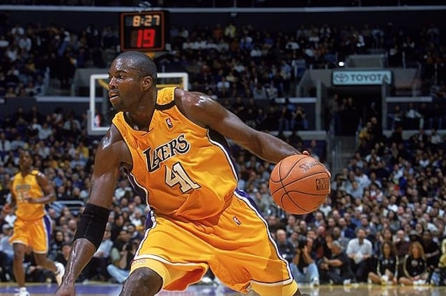 e56f9cba0 This Day In Lakers History  Glen Rice Sinks Buzzer-Beater
