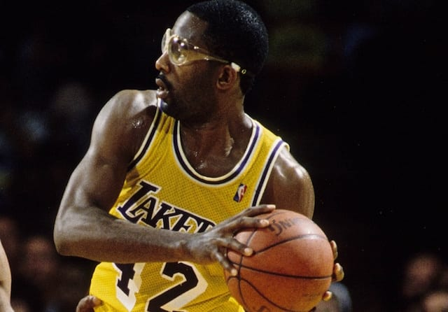 info for 27c31 f9e14 This Day In Lakers History: James Worthy Notches Final 30 ...