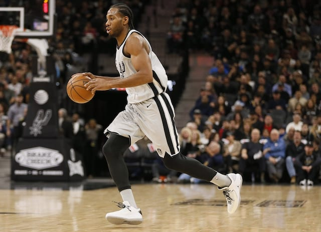1872aa898 NBA Trade Rumors  Spurs Prefer Not To Trade Kawhi Leonard To Lakers But  Could Be Enticed To