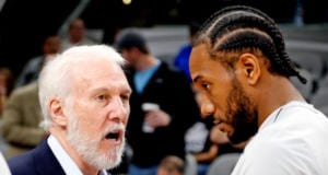 Kawhi Leonard, Gregg Popovich, Spurs, Lakers