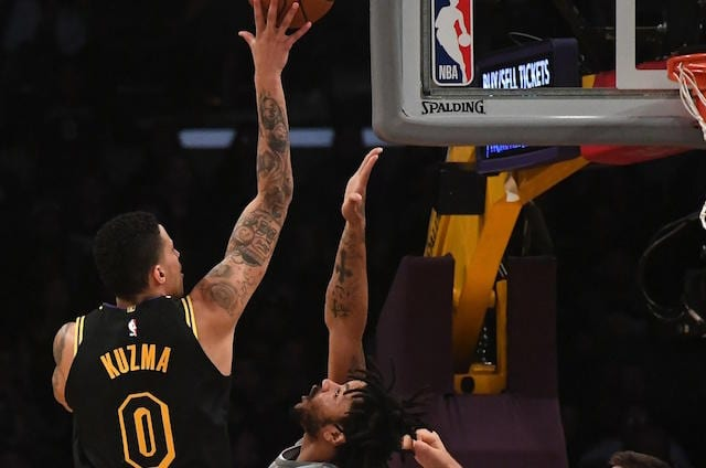 Kyle Kuzma, Los Angeles Lakers, Kuzma