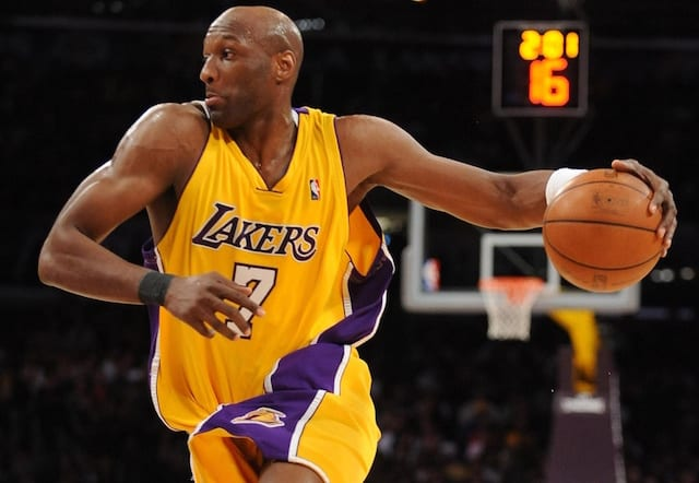 Image result for lamar odom lakers usa today