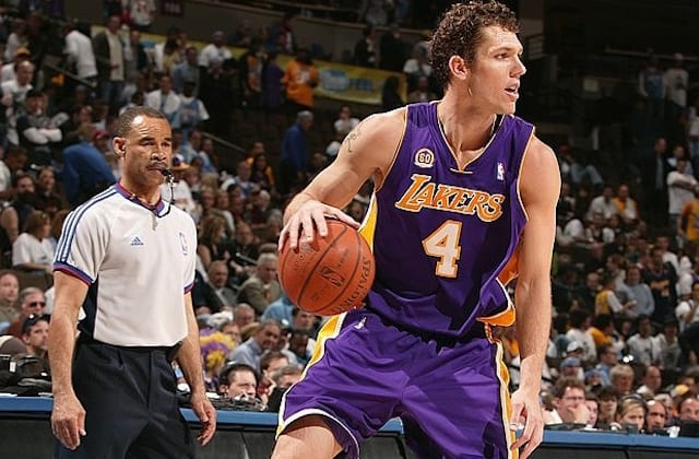2c62ed56e This Day In Lakers History  Luke Walton Headlines All-Around Attack In Game  3 Win Over Nuggets
