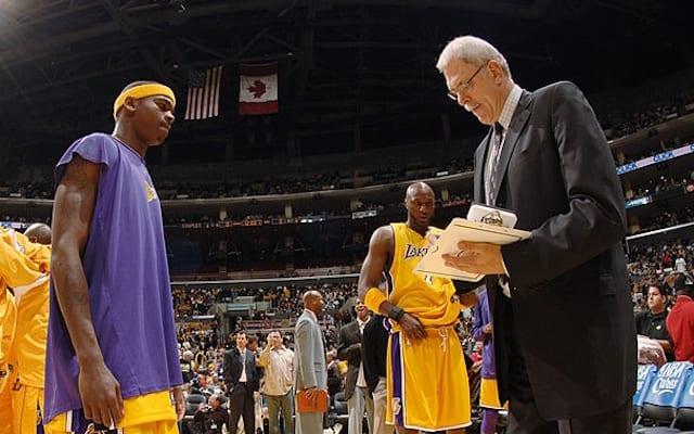 Phil Jackson, Smush Parker, Lakers