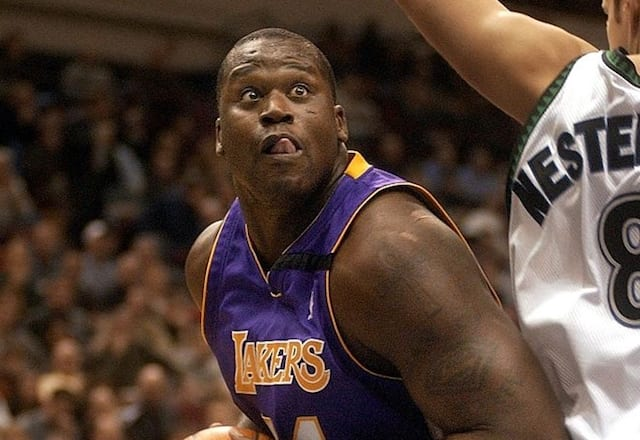 Los Angeles Lakers, Shaquille O'Neal