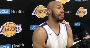 Jevon Carter, Lakers