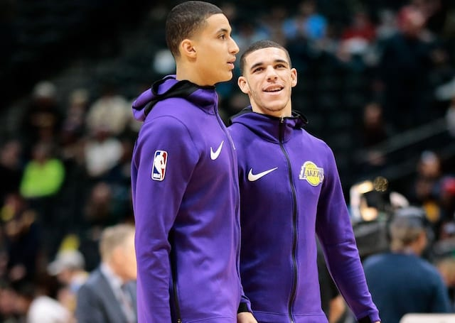 Lonzo Ball, Kyle Kuzma, Lakers