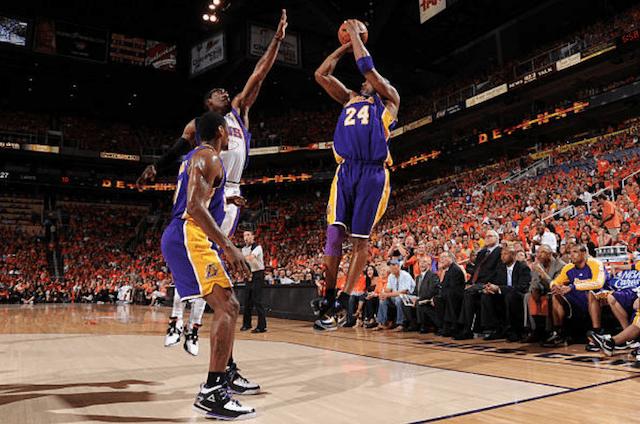 Ron Artest, Kobe Bryant, Lakers