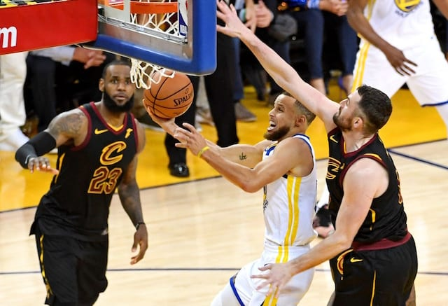 b3c91298ff4 2018 NBA Finals Highlights  LeBron James Scores 51 Points But Warriors Earn  Overtime Victory Against Cavs In Game 1