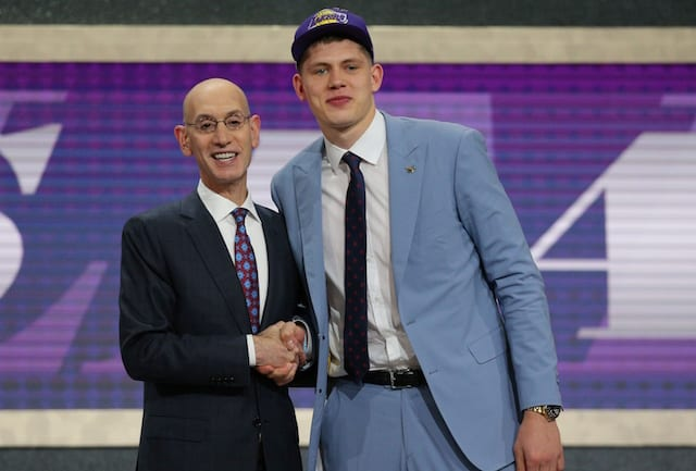 d3fb4a7f6ac NBA Rumors: Lakers Selecting Moritz Wagner Over Omari Spellman With ...