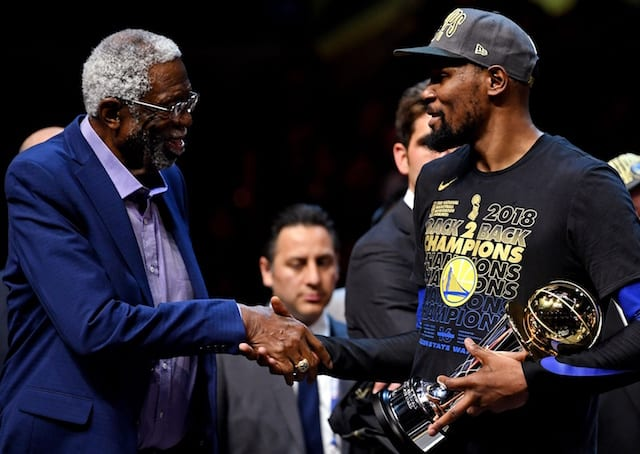Warriors' Kevin Durant Joins Kobe Bryant, Shaquille O'Neal And 4 Others In NBA History To Win ...
