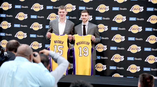 Svi Mykhailiuk, Moe Wagner, Lakers, South Bay Lakers