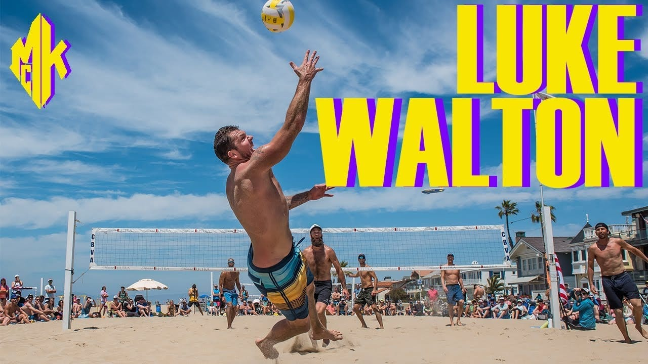 27f565a6ba8 Lakers Video  Luke Walton Holds His Own Against Professional Beach  Volleyball Players