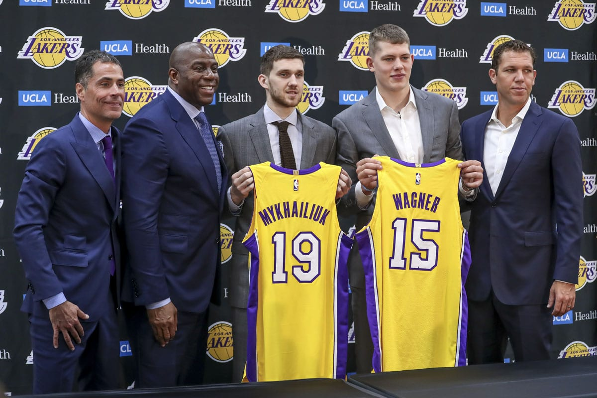 9df340cba29a Lakers News  Moritz Wagner