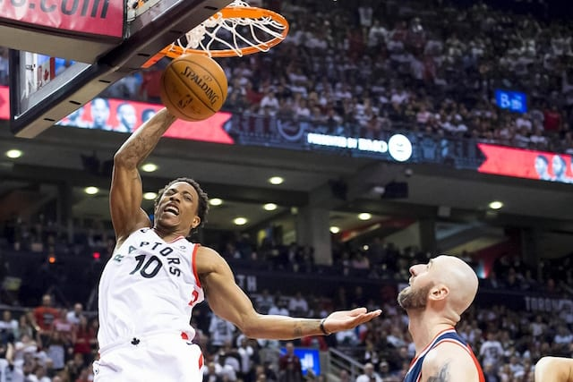 Spurs, Raptors talking Kawhi, DeRozan trade