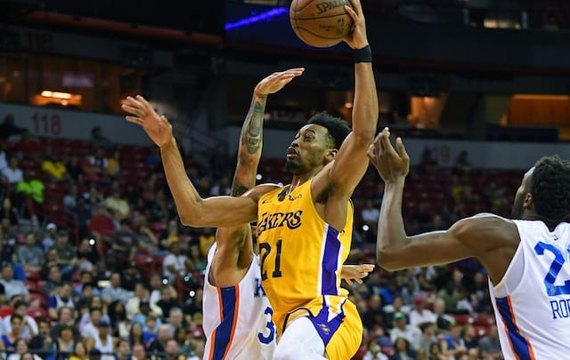 f756e45900e Lakers Sign Johnathan Williams For Training Camp Roster
