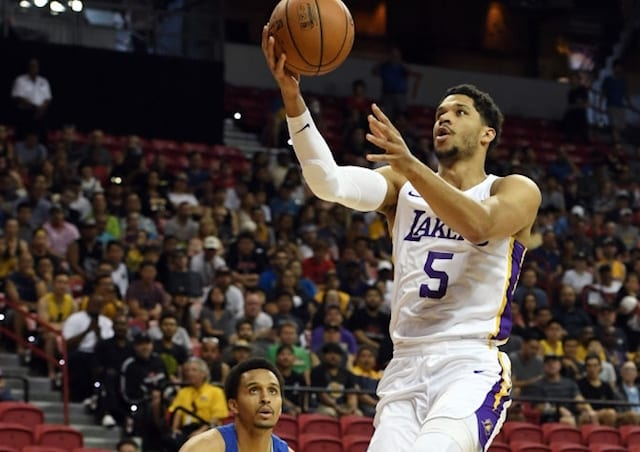 Los Angeles Lakers headed to second straight Summer League title game
