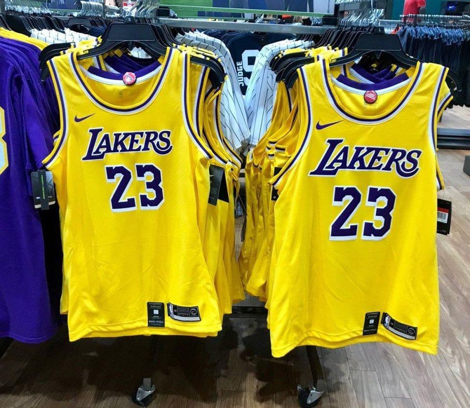 New Lakers Nike Jersey Officially Leaks Ahead Of Formal ...Lakers Jersey