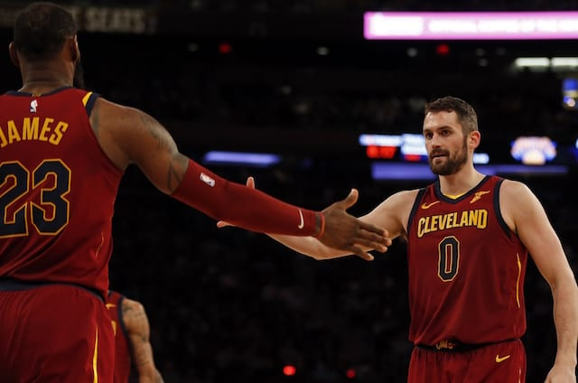 Cleveland Cavaliers, Kevin Love, agree to 4-year, $120 million extension