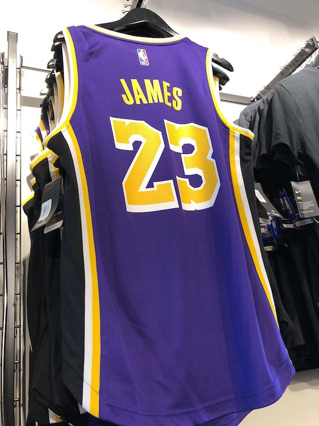New Lakers Nike Jersey Officially Unveiled For 2018-19 NBA ...Lakers Jersey