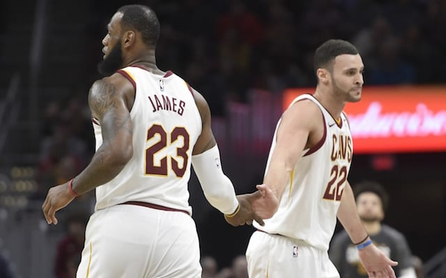 LeBron James, Larry Nance Jr.