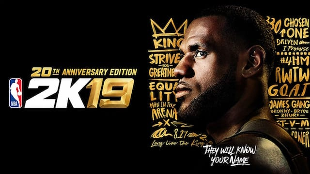 competitive price a4acb 34241 Lakers News  LeBron James Receives 98 Overall Player Rating In NBA 2K19
