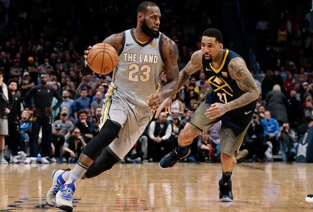 Denver Nuggets' very active free agency continues with…LeBron James??