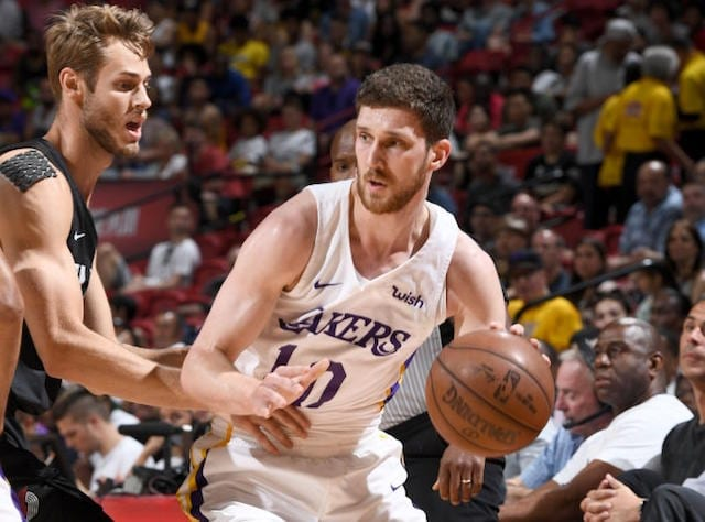 Jesse Buss: Lakers Were 'Terrified' Svi Mykhailiuk Would Be Selected Before No. 47 Pick In 2018 NBA Draft