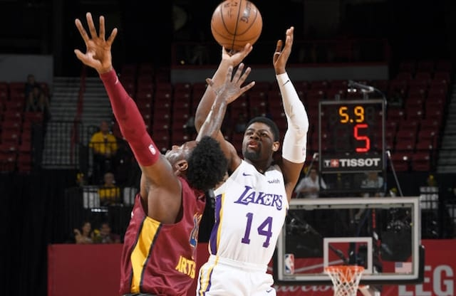 0f67a345f7f Lakers Trim Training Camp Roster By Waiving Malik Newman