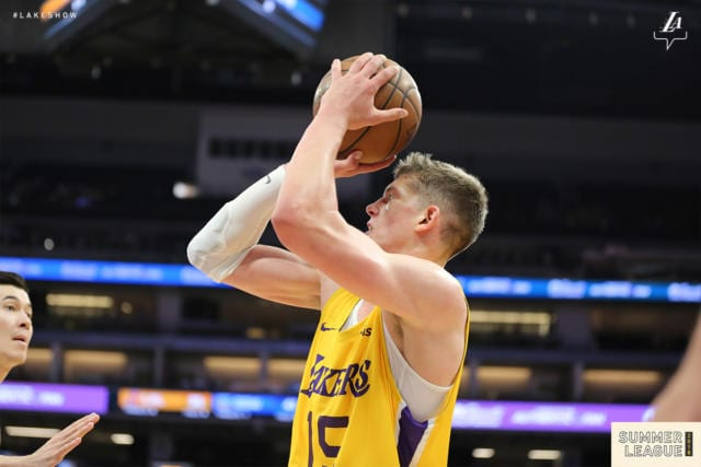 Moritz Wagner, Lakers, Summer League