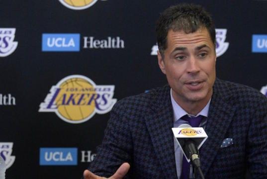 34e4228ca3f Lakers News  Rob Pelinka Will Explore All Options With No. 4 Pick In 2019  NBA Draft