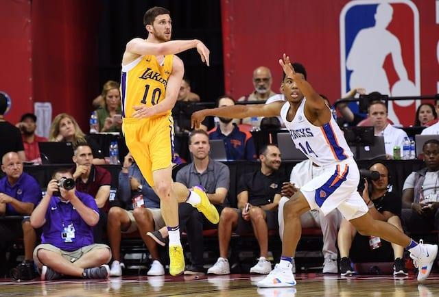 Sviatoslav Mykhailiuk, Svi Mykhailiuk, Los Angeles Lakers