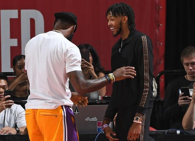 Brandon Ingram, LeBron James