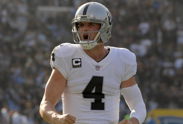 Derek Carr, Raiders, Lakers