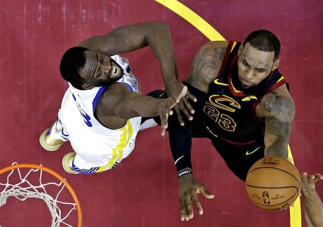 Draymond Green, LeBron James, Lakers, Warriors
