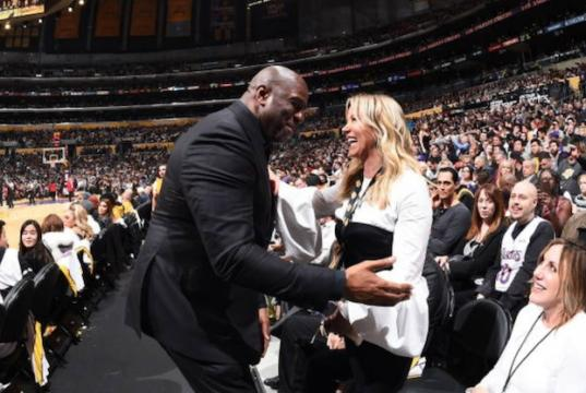 43b9f1c75dd Lakers News  Jeanie Buss  Will Always Defer  To Magic Johnson On Basketball  Decisions