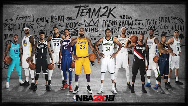 b3bfac5804c NBA 2K19 Trailer: Lakers' LeBron James, JaVale McGee And Rajon Rondo In  Action