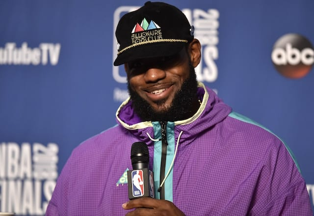 Donald Trump taunts basketballer LeBron James in late night Twitter rant