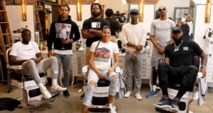 Michael Bennett, Jerrod Carmichael, Maverick Carter, Snoop Dogg, Draymond Green, LeBron James, Candace Parker, HBO The Shop