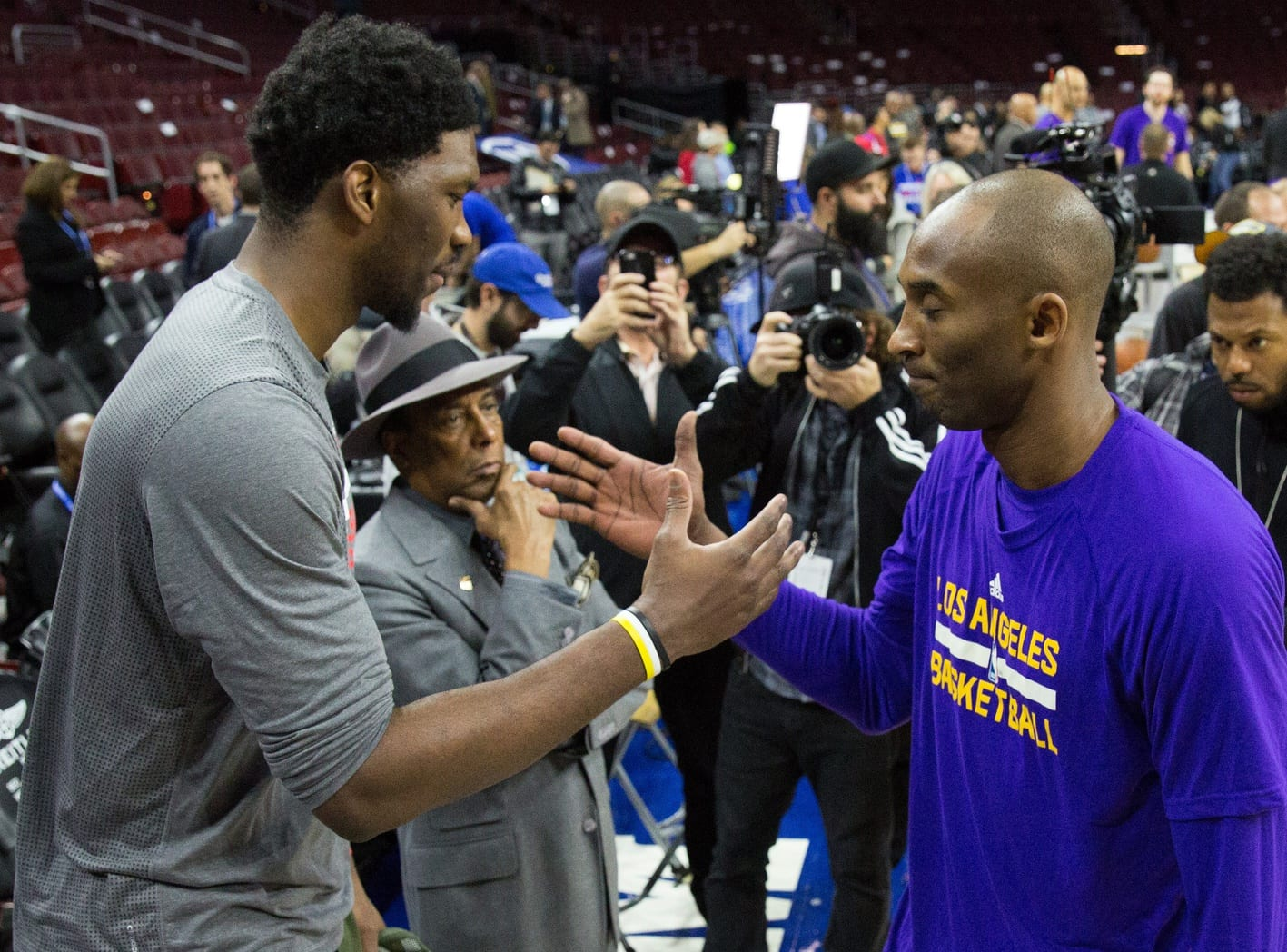 Kobe Bryant, Joel Embiid