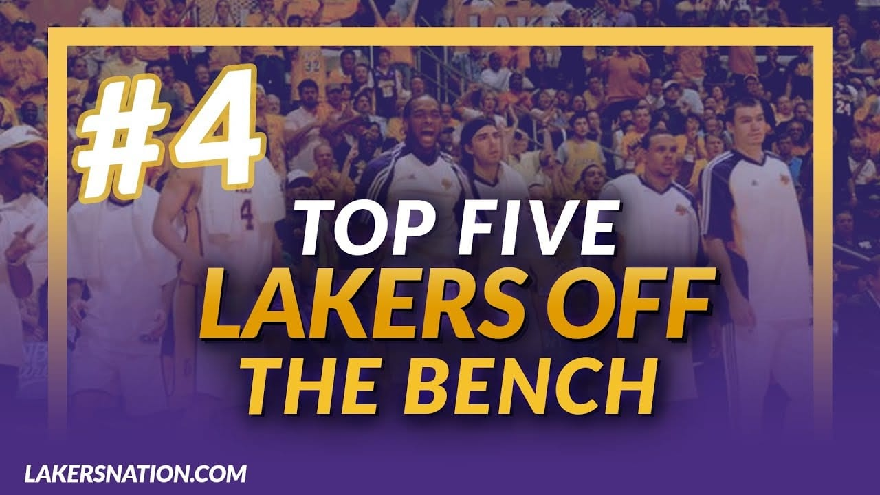 Best All-Time Lakers Bench Players: No. 4, Lou Williams