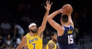 Brandon Ingram, JaVale McGee, Nikola Jokic, Lakers, Nuggets
