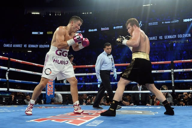 Fans fume over controversial majority decision in Canelo win over Gennady Golovkin