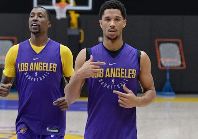 Kentavious Caldwell-Pope, Josh Hart, Los Angeles Lakers