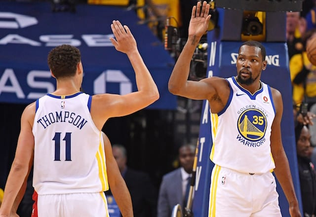 NBA Free Agency Rumors: Lakers 'Second Or Third' On Lists Of Kevin Durant, Kawhi Leonard, Klay Thompson