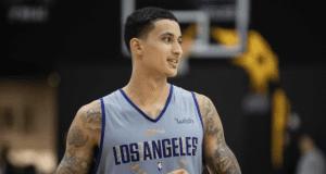 Kyle Kuzma, Los Angeles Lakers training camp