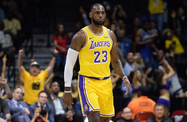 LeBron James: Lakers Debut At Staples Center 'A New Beginning'