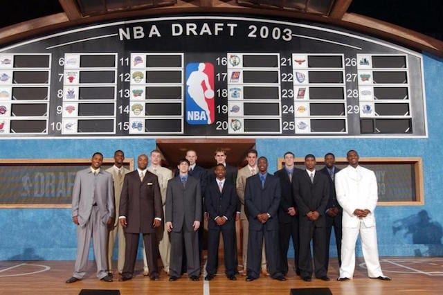 LeBron James, Dwyane Wade, 2003 NBA Draft