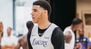 Lonzo Ball, Los Angeles Lakers training camp